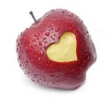 mela e cuore